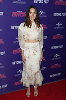 HOLLYWOOD, CA - OCTOBER 8 : Aubrey Plaza, at 2018 Beyond Fest - Premiere Of &quot;An Evening With Beverly Luff Linn&quot; at the Egyptian Theatre in Hollywood California on October 8, 2018. <br /> CAP/MPI/FS<br /> &copy;FS/MPI/Capital Pictures