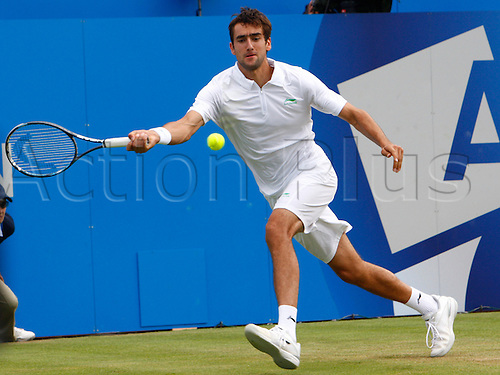 15.06.12 Queens Club, London, ENGLAND: ..Marin Cilic CRO..Marin Cilic CRO versus Yen-Hsun Lu TPE..during day five of the Aegon Championships at Queens Club ..on June 15, 2012 in London , England.........