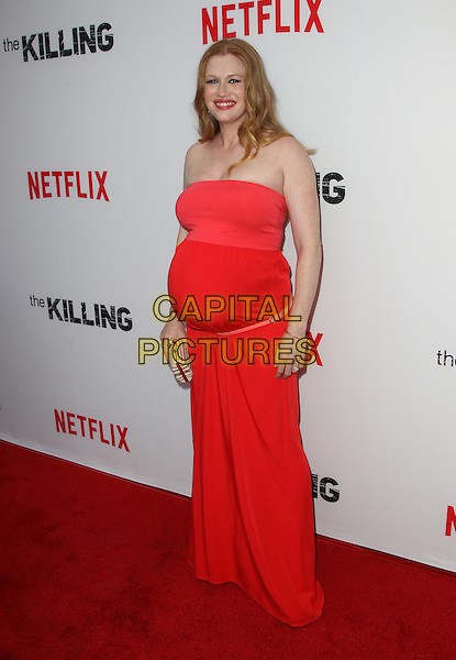 14 July 2014 - Hollywood, California - Mireille Enos. Premiere Of Netflix's &quot;The Killing&quot; Season 4 Held at The ArcLight Cinemas. <br /> CAP/ADM/FS<br /> &copy;Faye Sadou/AdMedia/Capital Pictures