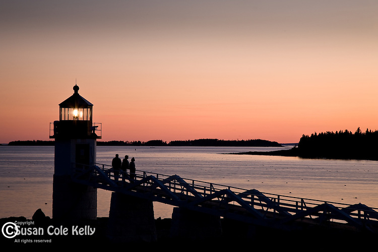 Marshal Point Light sunset, Port Clyde, Mid-coast ME