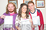 Students of St. Joseph' Secondary School Ballybunion who were pleased with the leaving cert results on Wednesday were Andrew Lane, Emma Carr, Ballybunion and Eoin O' Carroll, Asdee.   Copyright Kerry's Eye 2008