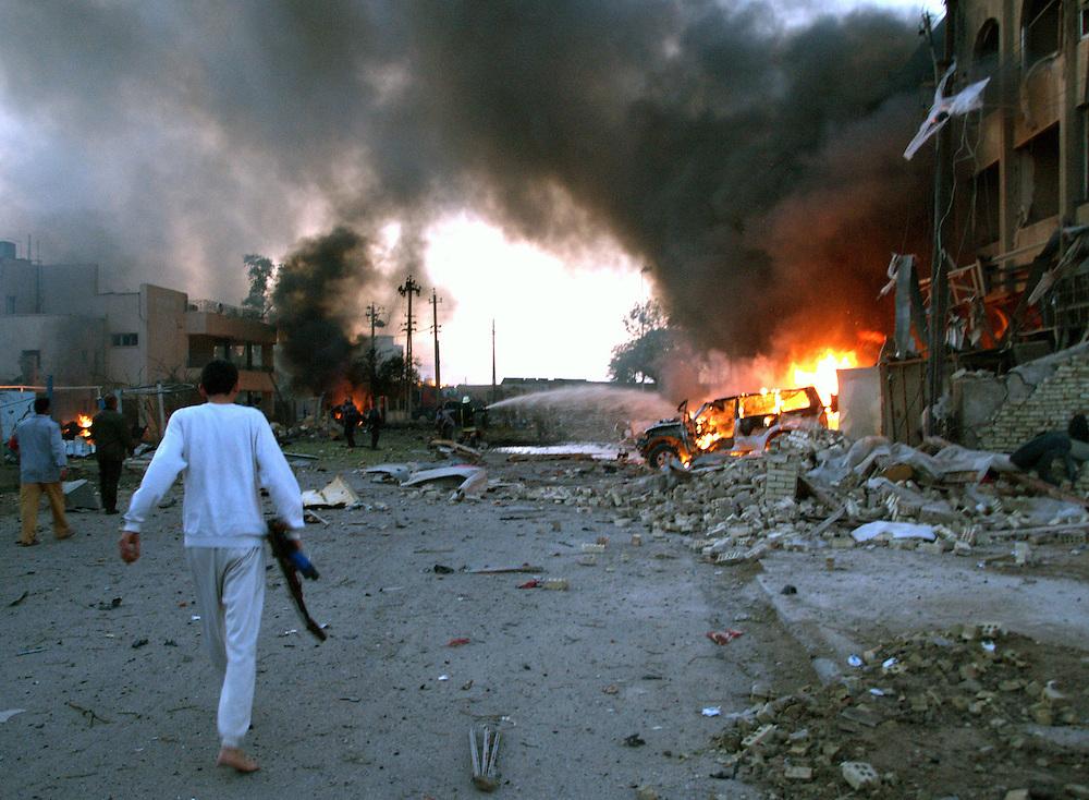 Iraq Shaheen Hotel Bombing   Jason P  Howe / Photographer