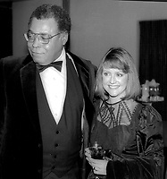 James Earl Jones and wife 1978<br /> Photo By Adam Scull/PHOTOlink.net