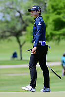 Sung Hyun Park (KOR) watches her putt on 1 during round 4 of  the Volunteers of America Texas Shootout Presented by JTBC, at the Las Colinas Country Club in Irving, Texas, USA. 4/30/2017.<br /> Picture: Golffile | Ken Murray<br /> <br /> <br /> All photo usage must carry mandatory copyright credit (&copy; Golffile | Ken Murray)