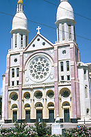 Port-au-Prince Cathedral, or Cathedrale de Notre-Dame in Port-Au-Prince, Haiti, 1981.  (Photo by Edward Cleary/www.bcpix.com)