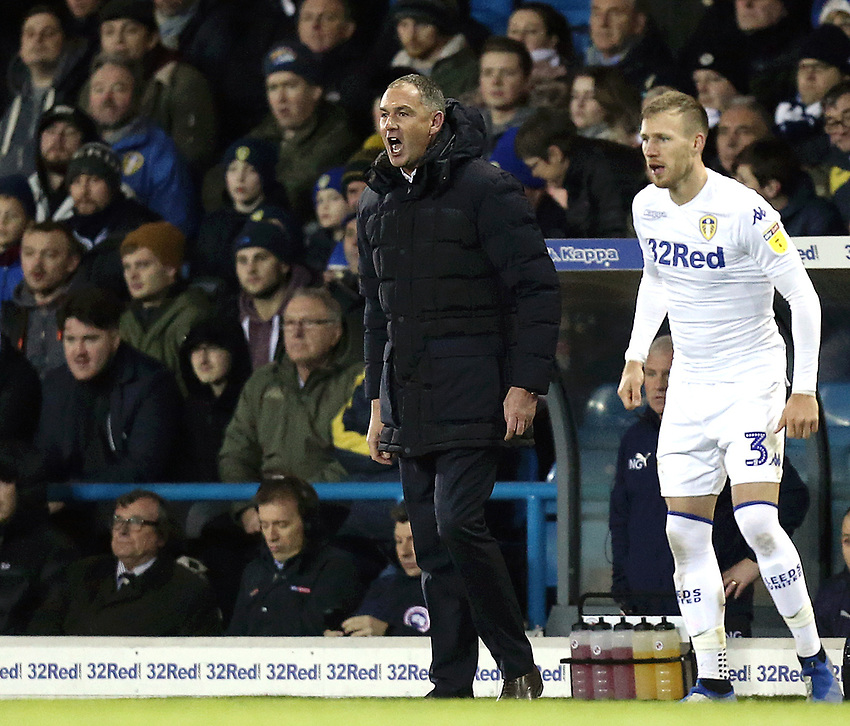 Reading manager Paul Clement shouts instructions to his team from the technical area<br /> <br /> Photographer Rich Linley/CameraSport<br /> <br /> The EFL Sky Bet Championship - Leeds United v Reading - Tuesday 27th November 2018 - Elland Road - Leeds<br /> <br /> World Copyright © 2018 CameraSport. All rights reserved. 43 Linden Ave. Countesthorpe. Leicester. England. LE8 5PG - Tel: +44 (0) 116 277 4147 - admin@camerasport.com - www.camerasport.com