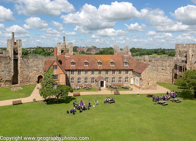 Framingham castle, Suffolk, England, UK
