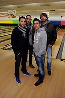 Pictured L-R: Angel Rangel, Chico Flores, Pablo Hernandez and Michu.  Wednesday 15 November 2012<br />