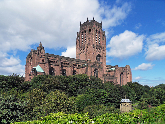 Photo of the Anglican Cathedral, Liverpool