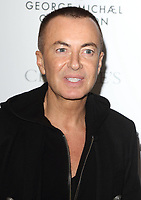 Julien Macdonald at The George Michael Collection - VIP private view and reception at Christies, St James, London on March 12th 2019<br /> CAP/ROS<br /> &copy;ROS/Capital Pictures