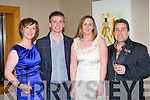 Eileen Kennedy Caragh Lake, Brian Ormond, Angela O'Sullivan and TV personality Franc at the Brown Thomas fashion show in the Aghadoe Heights Hotel Killarney on Friday night..