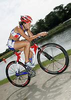 05 AUG 2006 - HOLME PIERREPONT, GBR - Kate Balchin - British Club Relay Triathlon Championships (PHOTO (C) NIGEL FARROW)