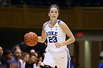 15 November 2016: Duke's Rebecca Greenwell. The Duke University Blue Devils hosted the Longwood University Lancers at Cameron Indoor Stadium in Durham, North Carolina in a 2016-17 NCAA Division I Women's Basketball game. Duke won the game 105-48.