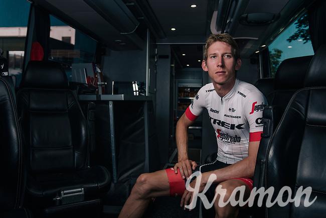 Bauke Mollema (NED/Trek-Segafredo) showing the Trek-Segafredo 2018 Tour de France kit