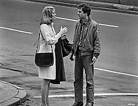 Taxi Driver (1976)<br /> Robert De Niro &amp; Cybill Shepherd<br /> *Filmstill - Editorial Use Only*<br /> CAP/KFS<br /> Image supplied by Capital Pictures
