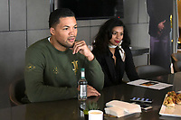 Joe Joyce during a Press Conference at the Park Plaza on 13th June 2018