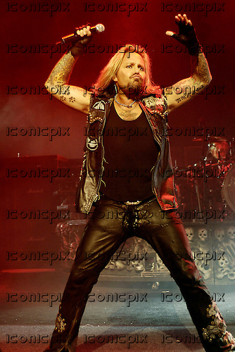 Vince Neil of Motley Crue performing live at the Apollo Hammersmith, London, England - 11 Jun 2007.  Photo by: George Chin.