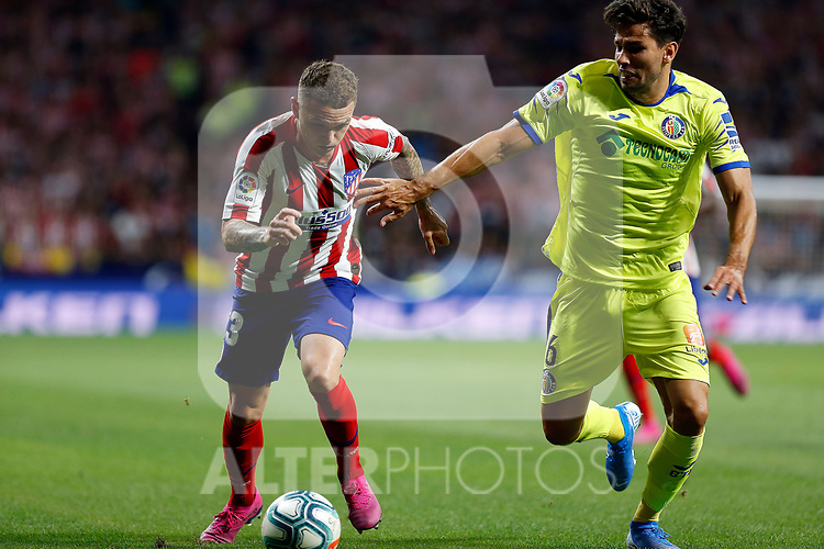 Atletico de Madrid's Kieran Trippier during La Liga match. Aug 18, 2019. (ALTERPHOTOS/Manu R.B.)Atletico de Madrid's Kieran Trippier  during the Spanish La Liga match between Atletico de Madrid and Getafe CF at Wanda Metropolitano Stadium in Madrid, Spain