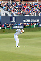 Michael Hoey (NIR) during the final round of the Alfred Dunhill links Championship Old Course, St Andrews, Fife, Scotland.<br /> Picture Fran Caffrey www.golffile.ie