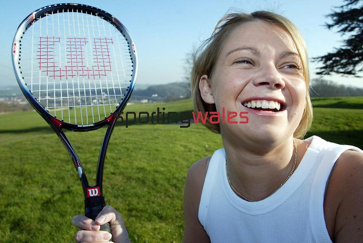 Female Tennis<br /> &copy;Steve Pope <br /> Sportingwales