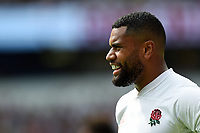 Joe Cokanasiga of England looks on. Quilter International match between England and Wales on August 11, 2019 at Twickenham Stadium in London, England. Photo by: Patrick Khachfe / Onside Images
