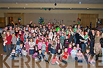 WAITING: Children from Glencarina waiting for Santas arrival at the Kerins O'Rahillys GAA Club, Tralee on Sunday. They were: Emma and Shane O'halloran, Chloe Dillon, Jane Gleeson, Jennifer Keating, Eleanor Moloney, Cillian Keating, Cara Lynch, Eoin Walsh and Aine Walsh. .......   Copyright Kerry's Eye 2008