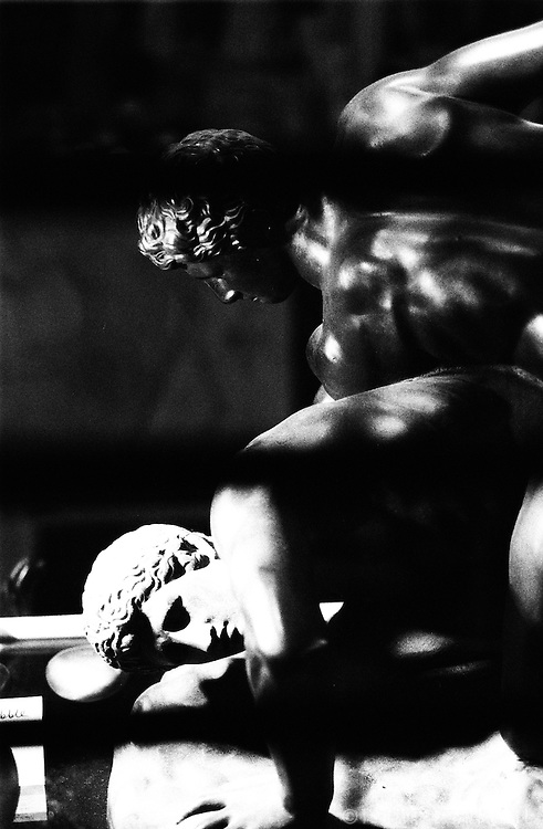 Ancient Greek Wrestlers