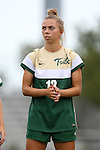 30 August 2015: William & Mary's Haley Kent. The Duke University Blue Devils hosted the William & Mary University Tribe at Koskinen Stadium in Durham, NC in a 2015 NCAA Division I Women's Soccer game. Duke won the game 2-0.