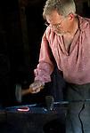 Blacksmiths keep alive an old art at the Blacksmith Shop in the Portage County Historical Society's Heritage Park. (DOUG WOJCIK)