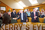 Tim Buckley after being named the new Chairman of Kerry County Council at the meeting on Monday.