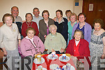 NIGHT OUT: Enjoying themselves at the OAP night out, part of the Bealtaine Festival, held in St. Brendan's Community Centre, Ardfert, on Friday night were seated l-r: Mary Walsh, Mary B. Nolan and Bridie Kelly. Standing l-r: Nora Brassil, Christy Hanafin, Lilly Dillon, Gerry O'Brien, Bridie Maunsell, Peggy Costello, Mary O'Halloran, Margaret Nolan, Kathleen O'Connor and Nancy Lenihan.   Copyright Kerry's Eye 2008