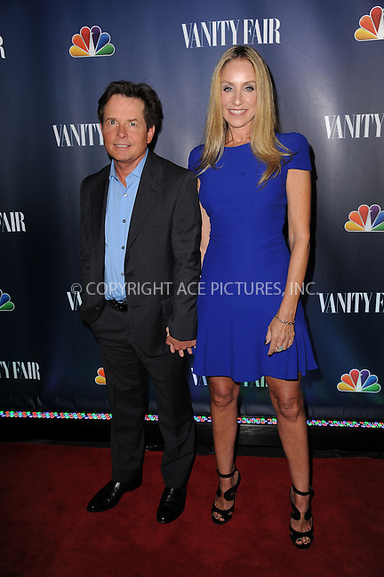 WWW.ACEPIXS.COM<br /> September 16, 2013 New York City<br /> <br /> Michael J. Fox and Tracy Pollan attending NBC's 2013 Fall Launch Party at the The Standard Hotel on September 16, 2013 in New York City.<br /> <br /> By Line: Kristin Callahan/ACE Pictures<br /> <br /> ACE Pictures, Inc.<br /> tel: 646 769 0430<br /> Email: info@acepixs.com<br /> www.acepixs.com<br /> Copyright:<br /> Kristin Callahan/ACE Pictures