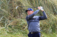 Matt Wallace (ENG) on the 3rd fairway during Round 2 of the Alfred Dunhill Links Championship 2019 at Kingbarns Golf CLub, Fife, Scotland. 27/09/2019.<br /> Picture Thos Caffrey / Golffile.ie<br /> <br /> All photo usage must carry mandatory copyright credit (© Golffile | Thos Caffrey)