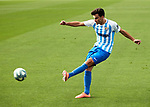 Juankar (Malaga CF) seen in action during La Liga Smartbank match round 39 between Malaga CF and RC Deportivo de la Coruna at La Rosaleda Stadium in Malaga, Spain, as the season resumed following a three-month absence due to the novel coronavirus COVID-19 pandemic. Jul 03, 2020. (ALTERPHOTOS/Manu R.B.)