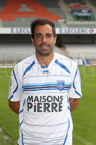 01.08.2013. Auxerre, France. Official Club photoshoot portait for season 2013-14.  (Auxerre) Marco Ramos