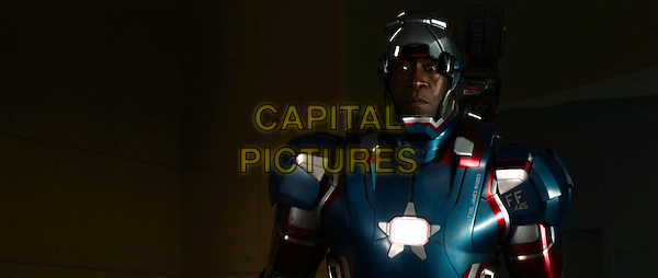 DON CHEADLE<br /> in Iron Man 3 (2013) <br /> *Filmstill - Editorial Use Only*<br /> CAP/FB<br /> Supplied by Capital Pictures