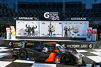 IMSA Prototype Challenge<br /> The Roar Before the Rolex 24<br /> Daytona International Speedway<br /> Daytona Beach, FL USA<br /> Saturday 6 January 2018<br /> IMSA Prototype Challenge LMP3 Overall Podium <br /> World Copyright: Jake Galstad<br /> LAT Images