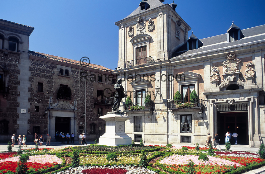Spanien, Kastilien, Madrid: Plaza de la Villa mit Casa de la Villa - Rathaus   Spain, Castile, Madrid: Plaza de la Villa with Casa de la Villa - cityhall