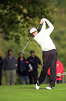 Photo Peter Spurrier.17/10/2002 Thur.CISCO World Matchplay Championships - Wentworth.Colin Montgomerie..[Mandatory Credit Peter Spurrier/ Intersport Images]