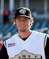 Eric Sogard - San Antonio Missions.2009 Texas League All-Star game held at Dr. Pepper Ballpark, Frisco, TX - 07/01/2009. The game was won by the North Division, 2-1..Photo by:  Bill Mitchell/Four Seam Images