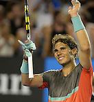 Rafael Nadal (ESP) defeats Thanasi Kokkinakis (AUS) 6-2, 6-4, 6-2