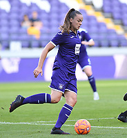 20190807 - ANDERLECHT, BELGIUM : Anderlecht's Tine De Caigny pictured during the female soccer game between the Belgian RSCA Ladies – Royal Sporting Club Anderlecht Dames  and the Greek FC PAOK Thessaloniki ladies , the first game for both teams in the Uefa Womens Champions League Qualifying round in group 8 , Wednesday 7 th August 2019 at the Lotto Park Stadium in Anderlecht  , Belgium  .  PHOTO SPORTPIX.BE | DAVID CATRY