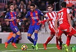 01.03.2017 Barcelona.La Liga game 25. Picture show Neymar in action between FC Barcelona v Sporting at Camp Nou