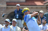 Rafael Cabrera Bello (ESP) watches his tee shot on 1 during round 1 of The Players Championship, TPC Sawgrass, at Ponte Vedra, Florida, USA. 5/10/2018.<br /> Picture: Golffile | Ken Murray<br /> <br /> <br /> All photo usage must carry mandatory copyright credit (&copy; Golffile | Ken Murray)