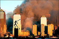 9/11/2001, before sunset.