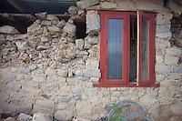 A destroyed house near at Kathmandu, Nepal. May 1, 2015