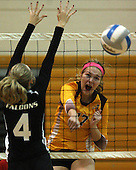 Rochester at Rochester Adams, Varsity Volleyball, 9/30/14