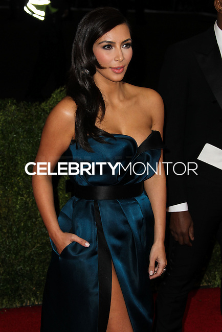 """NEW YORK CITY, NY, USA - MAY 05: Kim Kardashian at the """"Charles James: Beyond Fashion"""" Costume Institute Gala held at the Metropolitan Museum of Art on May 5, 2014 in New York City, New York, United States. (Photo by Xavier Collin/Celebrity Monitor)"""