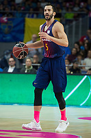 FC Barcelona Lassa Pau Ribas during Liga Endesa match between Estudiantes and FC Barcelona Lassa at Wizink Center in Madrid, Spain. October 22, 2017. (ALTERPHOTOS/Borja B.Hojas) /NortePhoto.com