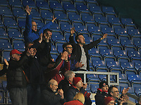Fleetwood Town fans applaud their team at the final whistle <br /> <br /> Photographer Kevin Barnes/CameraSport<br /> <br /> The EFL Sky Bet League One - Oxford United v Fleetwood Town - Tuesday 10th April 2018 - Kassam Stadium - Oxford<br /> <br /> World Copyright &copy; 2018 CameraSport. All rights reserved. 43 Linden Ave. Countesthorpe. Leicester. England. LE8 5PG - Tel: +44 (0) 116 277 4147 - admin@camerasport.com - www.camerasport.com